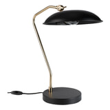 Dutchbone Tafellamp 'Liam' 49.5cm, kleur Zwart