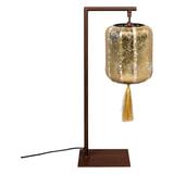 Dutchbone Tafellamp 'Suoni' 60cm, kleur Goud