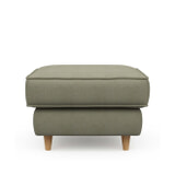 Rivièra Maison Hocker 'Kendall' Oxford Weave, kleur Forest Green