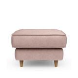Rivièra Maison Hocker 'Kendall' Velvet, kleur Blossom