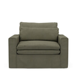 Rivièra Maison Loveseat 'Continental' Oxford Weave, kleur Forest Green