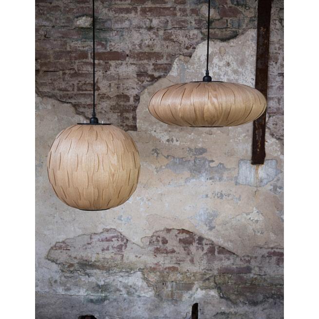 Dutchbone Hanglamp 'Bond' Ovaal, 50cm