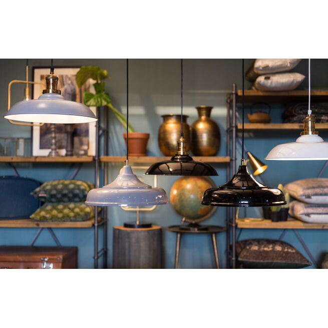 Dutchbone Hanglamp 'Sally' 34.5cm, kleur Grijs