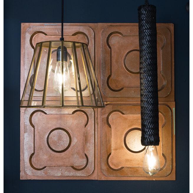 Dutchbone Hanglamp 'Tan' Rattan