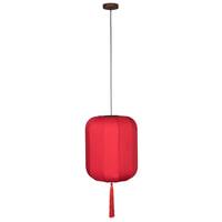 Dutchbone Hanglamp 'Suoni' 40cm, kleur Rood
