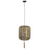 Dutchbone Hanglamp 'Suoni' 40cm, kleur Goud
