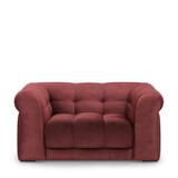 Rivièra Maison Loveseat 'Cobble Hill' Velvet, kleur Misty Rose