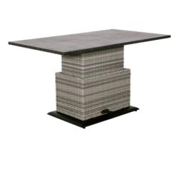 YardLife Verstelbare Loungetafel 'Soho Cloud' 130 x 75cm