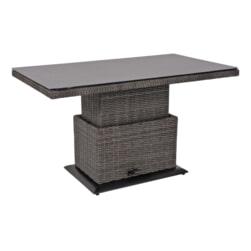 Lesli Verstelbare Loungetafel 'Soho Coal' 130 x 75cm
