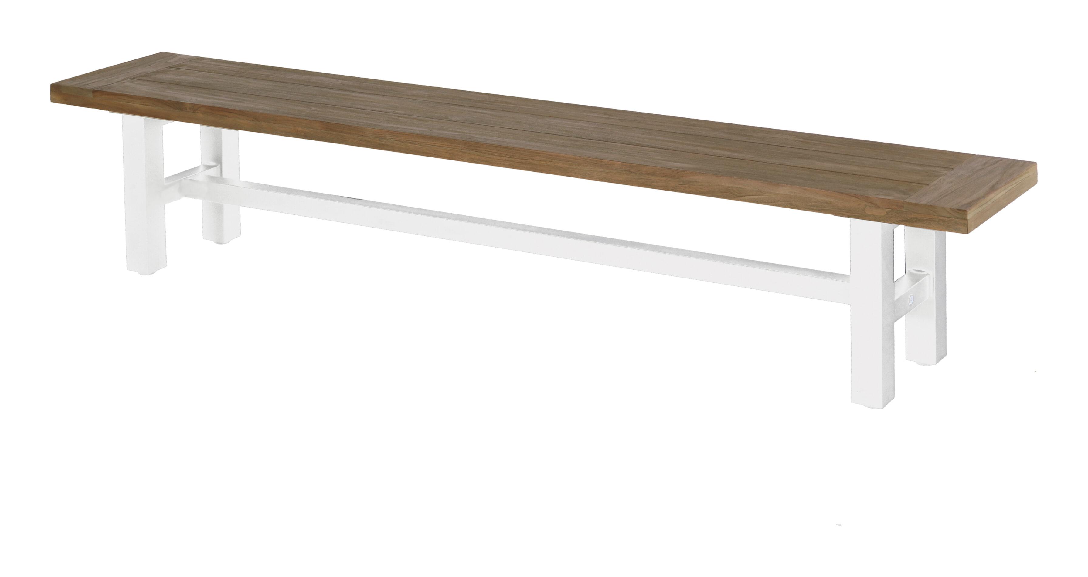 Hartman Tuinbank 'Sophie' 240cm, kleur Wit