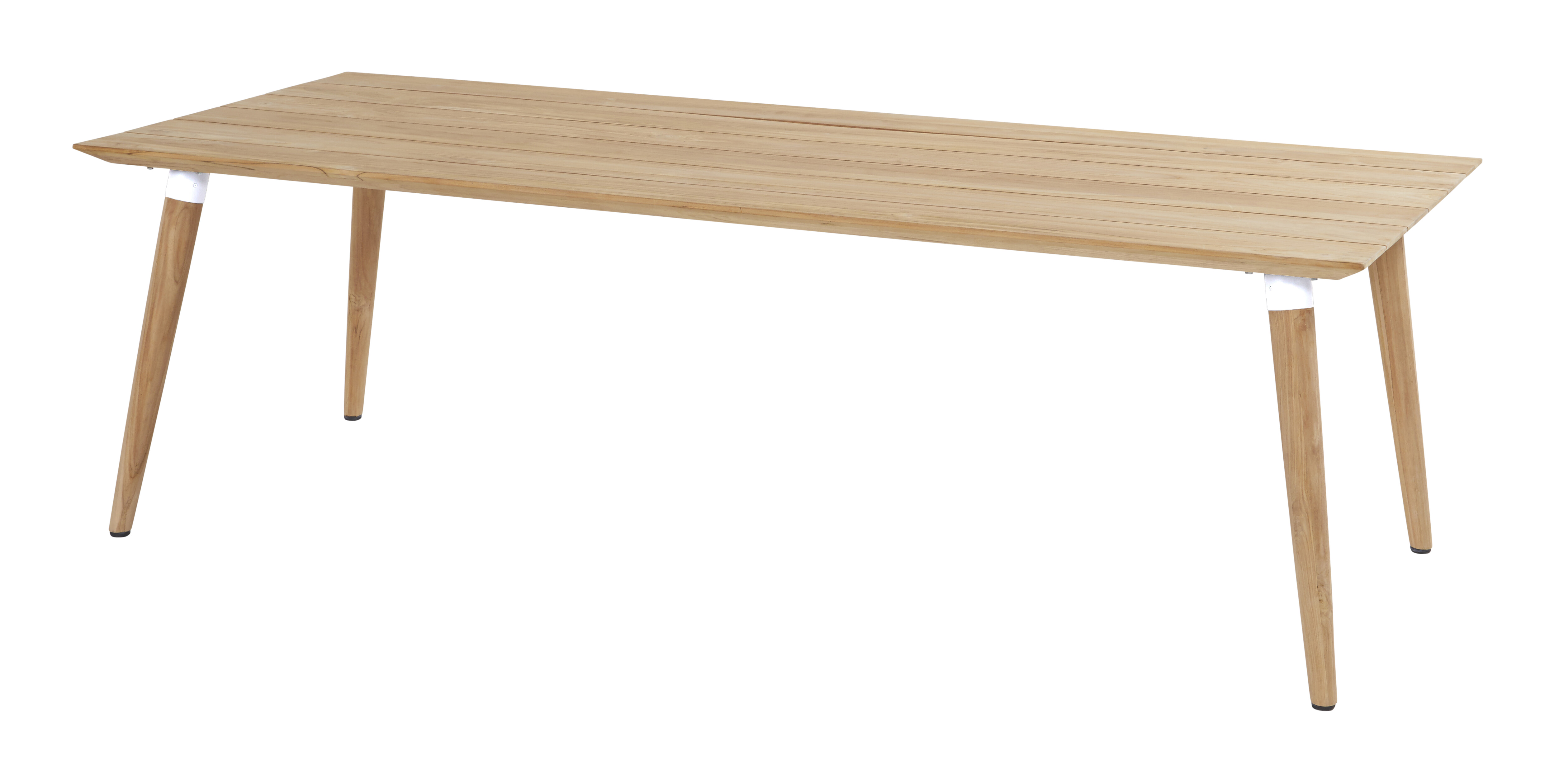 Hartman Tuintafel 'Sophie' Teak, 240 x 100cm, kleur Wit