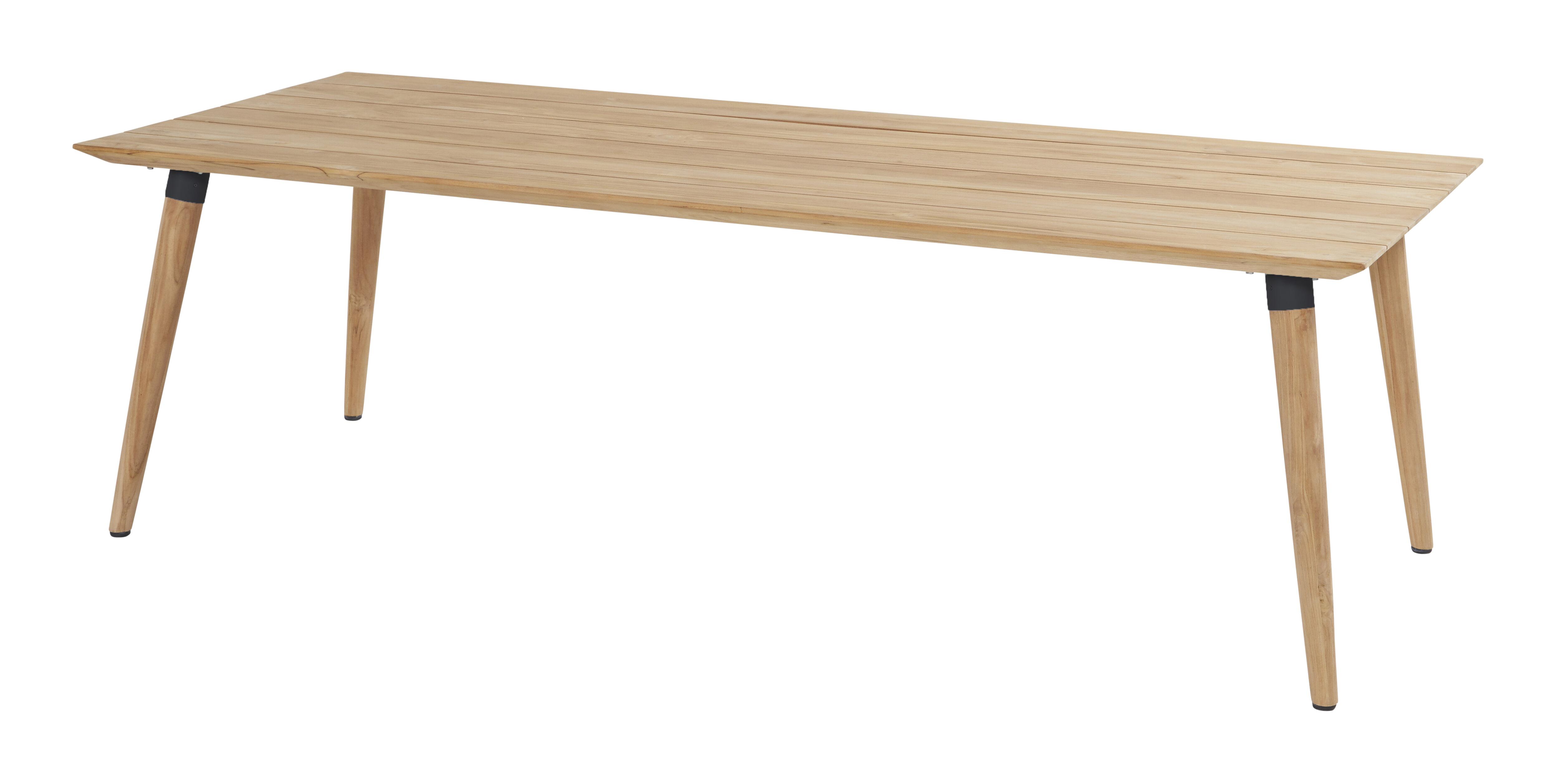 Hartman Tuintafel 'Sophie' Teak, 240 x 100cm, kleur Zwart