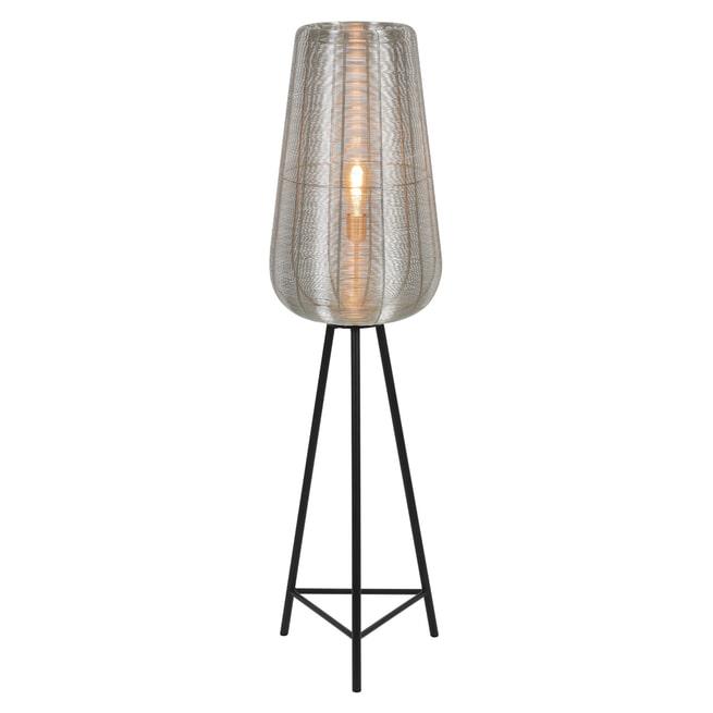 Light & Living Vloerlamp 'Adeta' kleur Nikkel