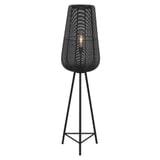 Light & Living Vloerlamp 'Adeta', mat zwart, 135cm hoog