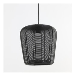 Light & Living Hanglamp 'Adeta' kleur Mat Zwart
