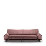 Rivièra Maison 3,5-zits Bank 'Collins' Velvet, kleur Dusty Pink