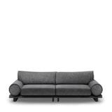Rivièra Maison 3,5-zits Bank 'Collins' Velvet, kleur Rock Grey