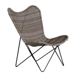 YardLife Vlinderstoel 'Atalanta' wicker