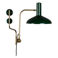 Dutchbone Wandlamp 'Devi' 49cm, kleur Groen