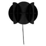 Dutchbone Wandlamp 'Corridor' 19cm, kleur Zwart