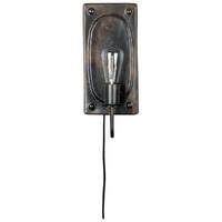 Dutchbone Wandlamp 'Brody' 38cm, kleur Bruin