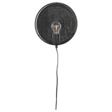 ZILT Wandlamp 'Sidse', 25.5cm kleur Zwart