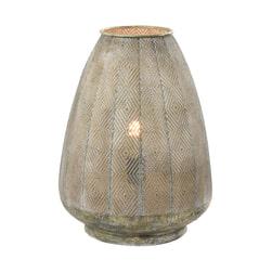 Light & Living Tafellamp 'Lavello' kleur Antiek Goud-/Wit