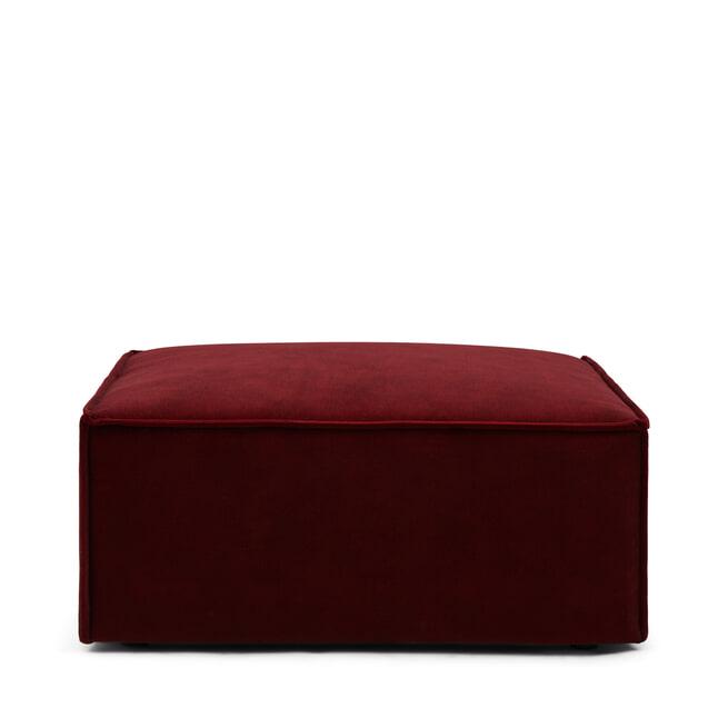 Rivièra Maison Hocker 'The Jagger' Velvet, kleur Vineyard Burgundy