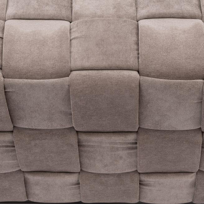 Rivièra Maison Hocker 'Room 48' Fine Tweed, kleur Pebbles