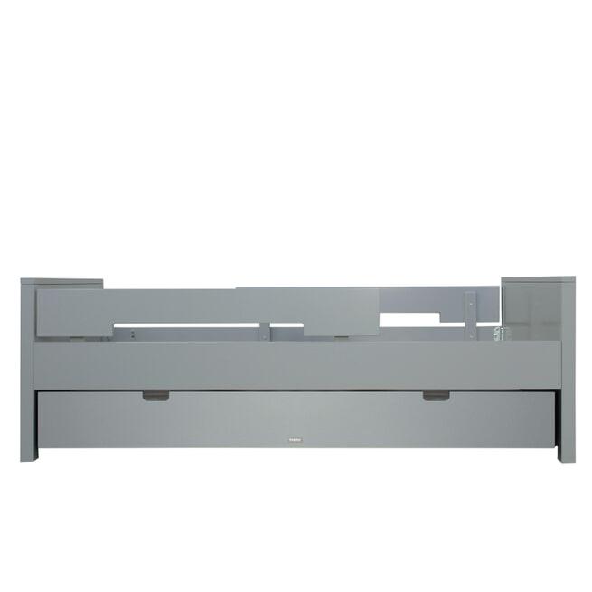 Bopita Bed 'Jonne' 90 x 200cm, kleur pure grey