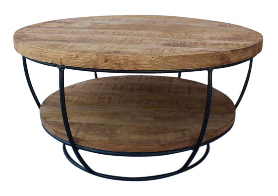 Brix Salontafel 'Evan' 65cm, kleur zwart Tafels | Salontafels vergelijken doe je het voordeligst hier bij Meubelpartner
