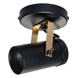 Dutchbone Plafondlamp 'Scope' 1-lamps, kleur Zwart