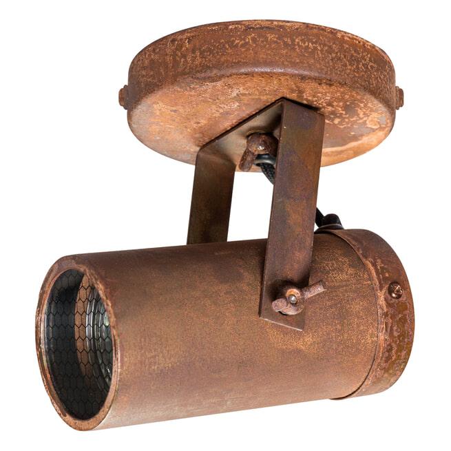 Dutchbone Plafondlamp 'Scope' kleur Roest