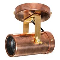 Dutchbone Plafondlamp 'Scope' 1-lamps, kleur Koper