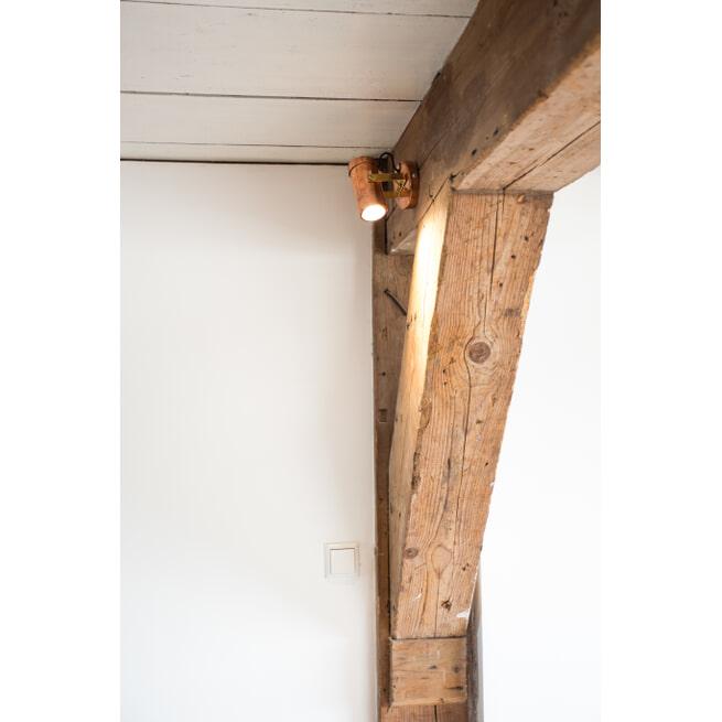 Dutchbone Plafondlamp 'Scope' kleur Koper