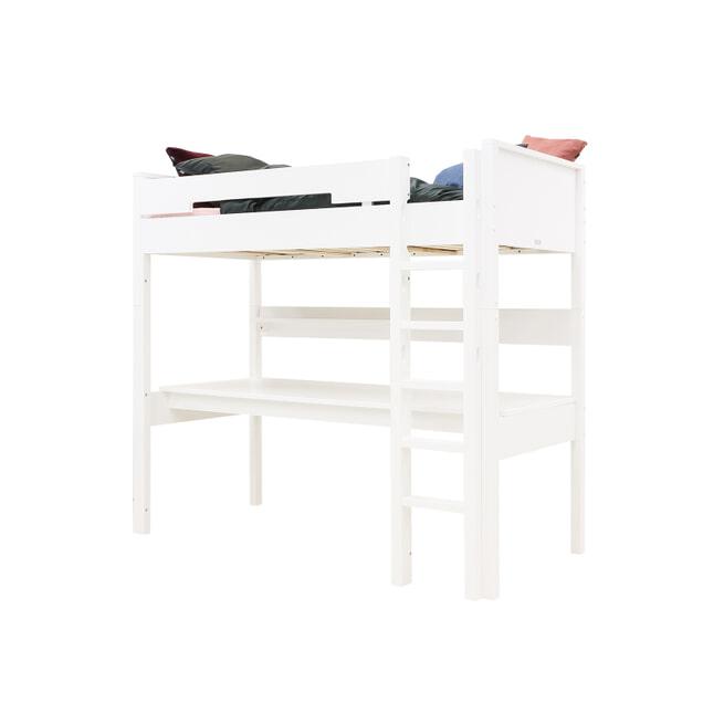 Bopita Hoogslaper met rechte trap 'Combiflex' XL, 90 x 200cm, kleur wit