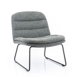 By-Boo Fauteuil 'Bermo' kleur Antraciet