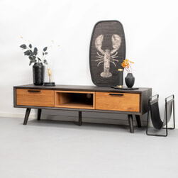 Tower Living Tv-meubel 'Bresso' Eiken, 152 cm