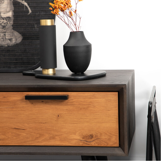 Tower Living Tv-meubel 'Bresso' Eiken, 152 cm