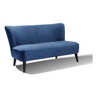 Artistiq Eetkamerbank 'Zara' Velvet, kleur Blauw