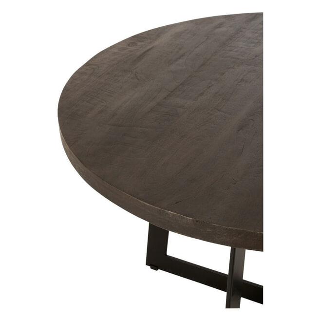 J-Line Eettafel 'Delphi' Mangohout, 120cm