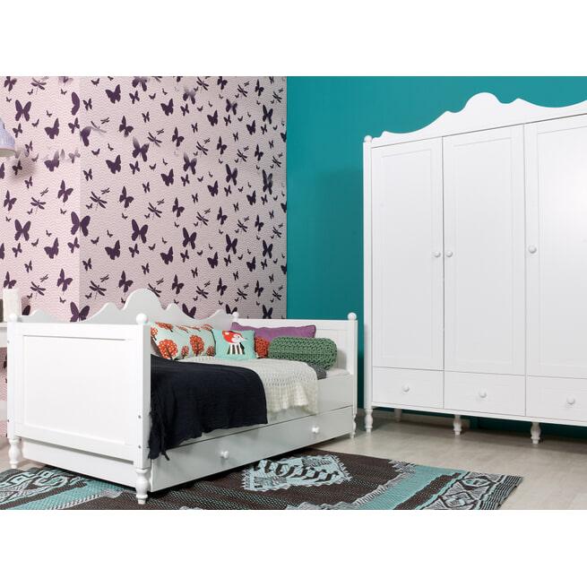 Bopita Bedlade 'Belle' 90 x 200cm, kleur wit