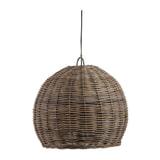 WOOOD Hanglamp 'Mooze' Rotan, Ø60cm