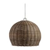 WOOOD Hanglamp 'Mooze' Rotan, Ø80cm