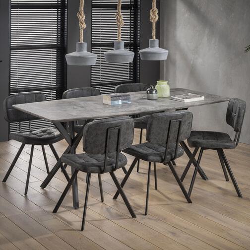 Moderne Grote Eettafel.Eettafel Kopen Grote Collectie Eetkamertafels Meubelpartner