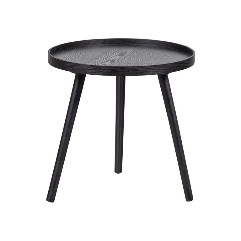 WOOOD Bijzettafel 'Mesa' kleur Zwart