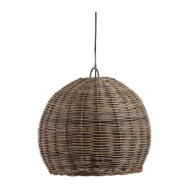 WOOOD Hanglamp 'Mooze' Rotan