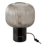 J-Line Tafellamp 'Benedicta' Marmer, 32.5cm hoog
