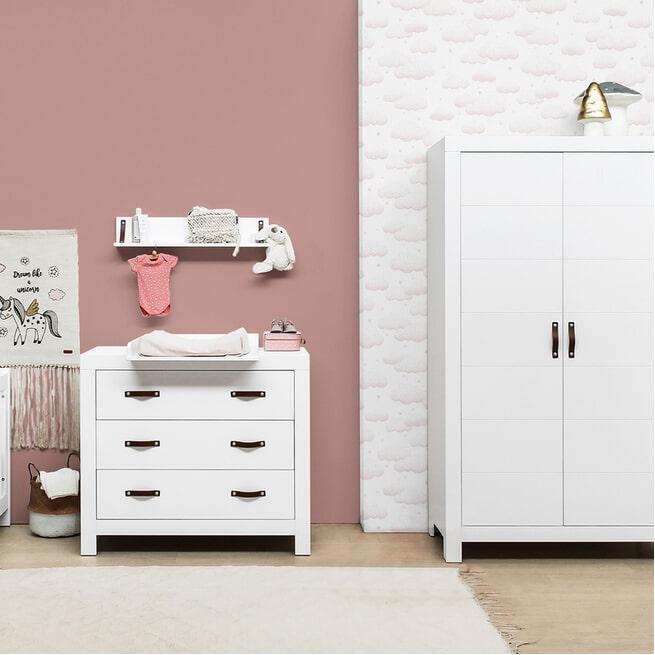 Bopita Kledingkast 'Lucca' kleur wit