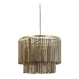 Light & Living Hanglamp 'Gulag' 60cm, kleur Bruin